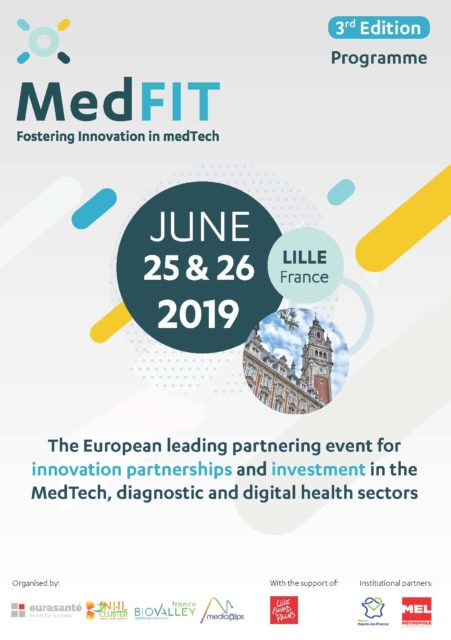 June 25th-26th 2019 MedFit, Lille France
